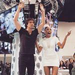 Ian and Kat - @bonnieanddamonsalvatore - Instagram