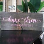 Diane Shreve - @woodensignsbydiane - Instagram