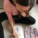 Joanna Szmerdt Art - @cotton.moon.art - Instagram