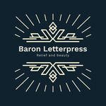 Wesley Baron - @baronletterpress - Instagram